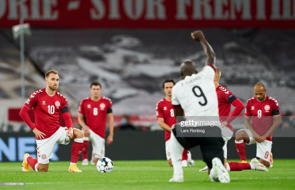 Denmark vs Belgium - UEFA Nations League : News Photo