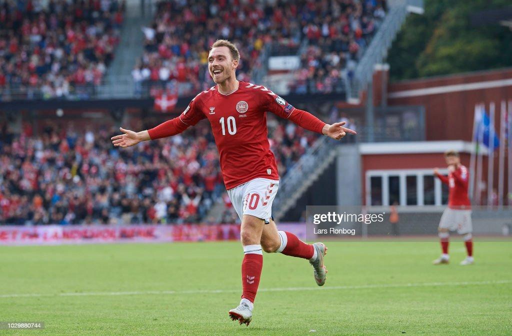 Denmark vs Wales - UEFA Nations League : News Photo