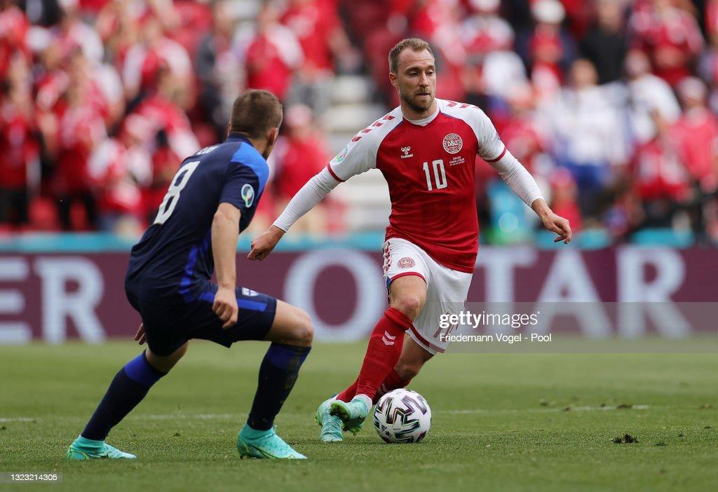 Denmark v Finland - UEFA Euro 2020: Group B : News Photo