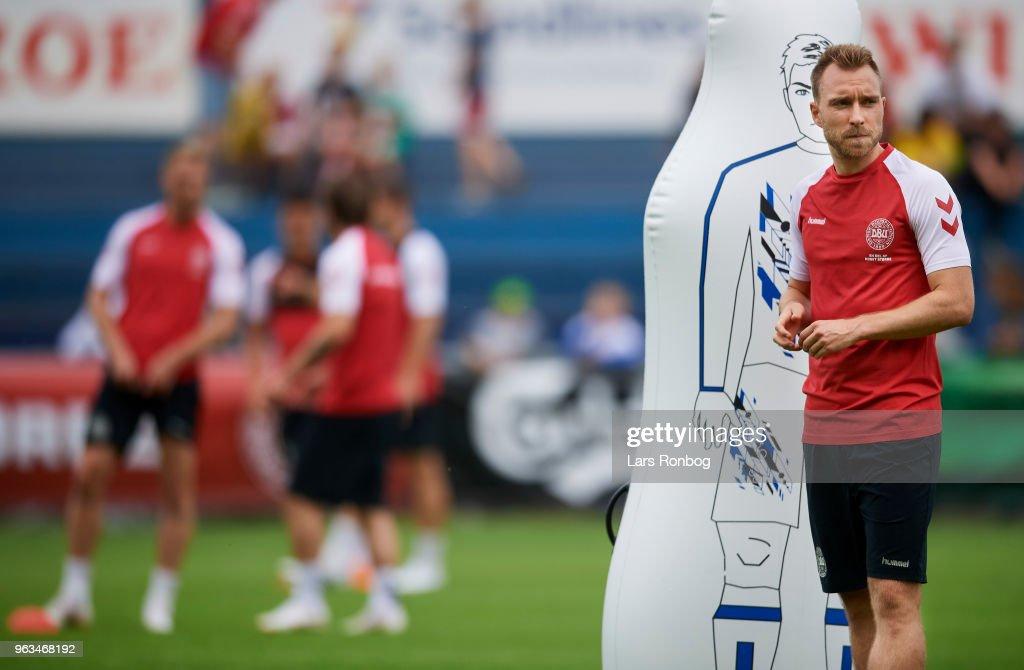 Denmark Training Session : News Photo