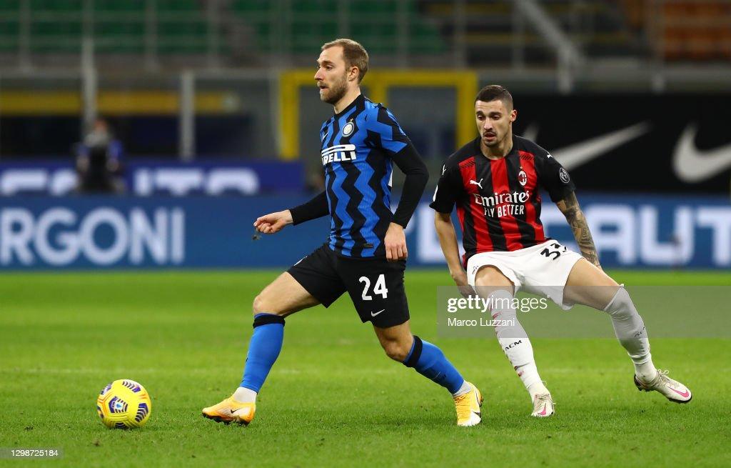FC Internazionale v AC Milan - Coppa Italia : News Photo