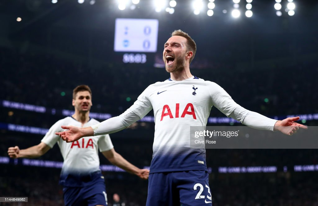 Tottenham Hotspur v Brighton & Hove Albion - Premier League : News Photo