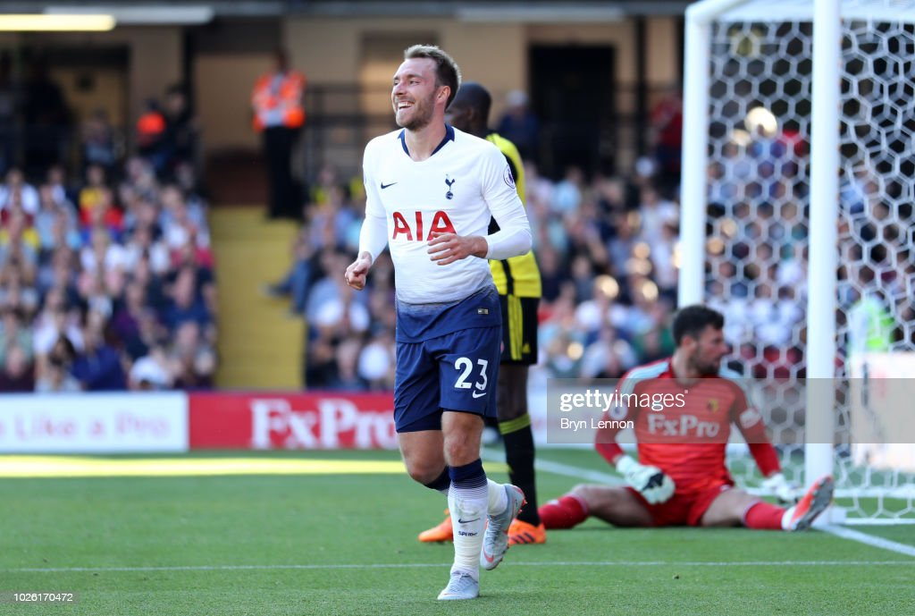 Watford FC v Tottenham Hotspur - Premier League : Foto jornalística