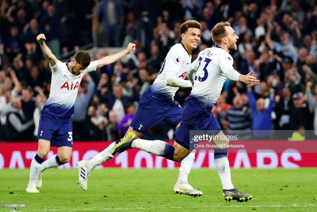 Tottenham Hotspur v Brighton & Hove Albion - Premier League : News Photo