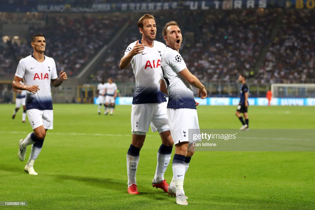 FC Internazionale v Tottenham Hotspur - UEFA Champions League Group B : News Photo