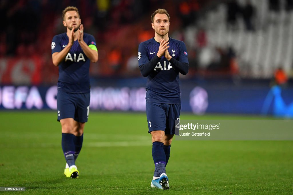 Crvena Zvezda v Tottenham Hotspur: Group B - UEFA Champions League : News Photo