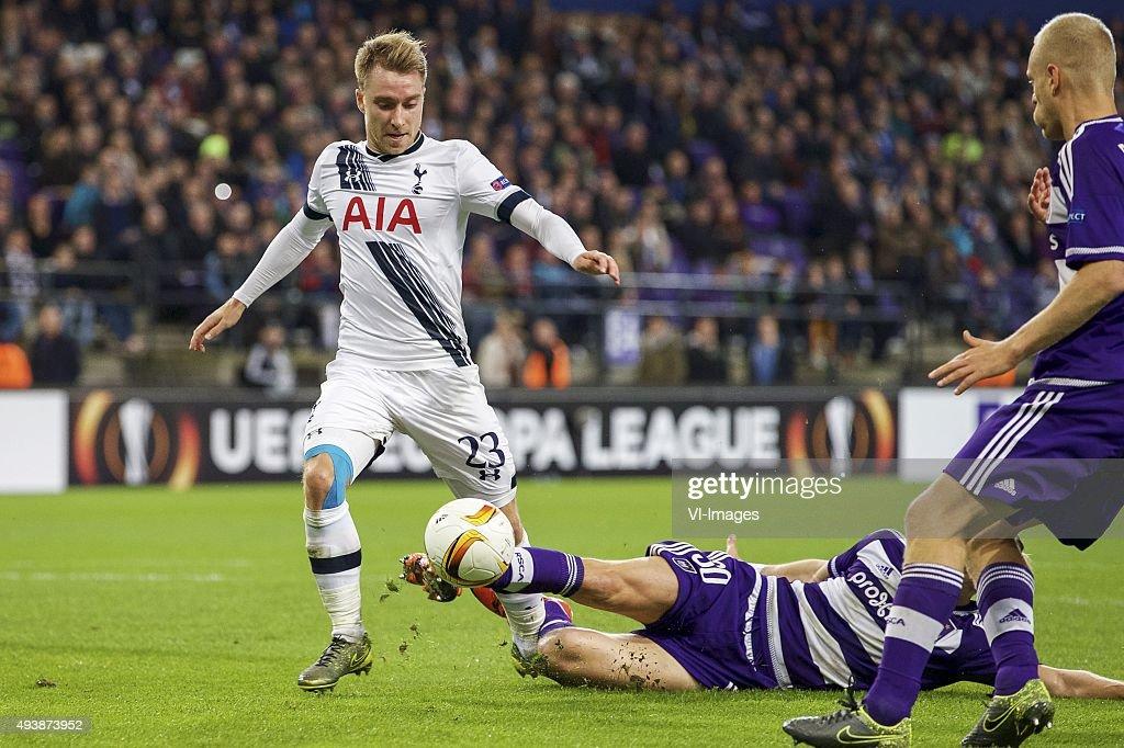 UEFA Europa League - Anderlecht v Tottenham Hotspur : News Photo