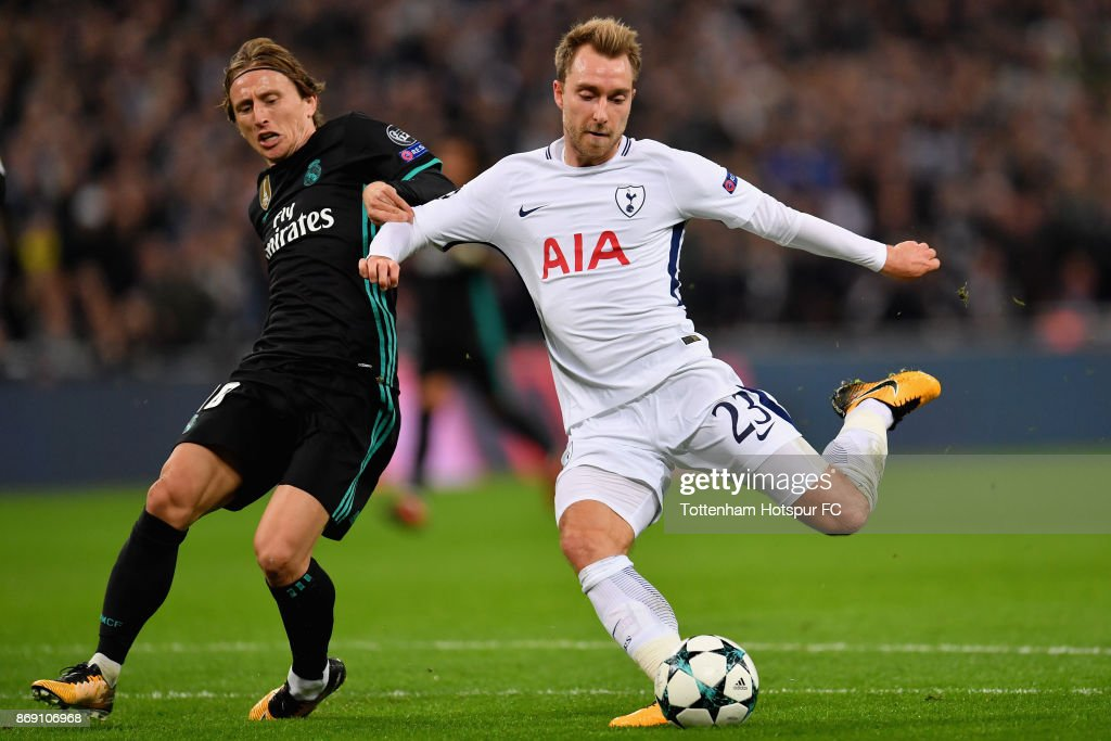 Tottenham Hotspur v Real Madrid - UEFA Champions League : News Photo