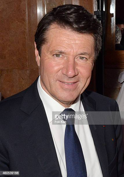 Christian Estrosi attends 'The Best' Awards 2014 Ceremony At Salons Hoche on December 15 2014 in Paris France
