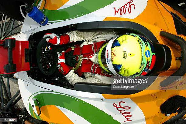 Christian Fittipaldi aboard the Newman Haas Racing Toyota Lola during practice for the Gran Premio GiganteTelmex round 19 of the CART Fed Ex...