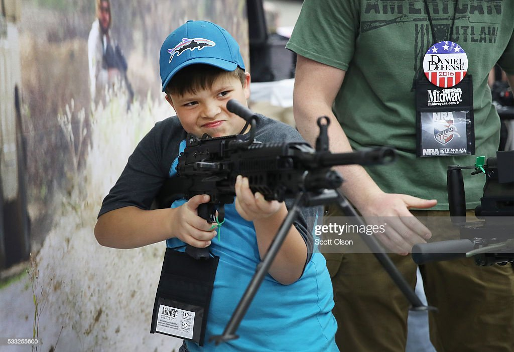National Rifle Association Holds Annual Meeting In Louisville, KY : News Photo