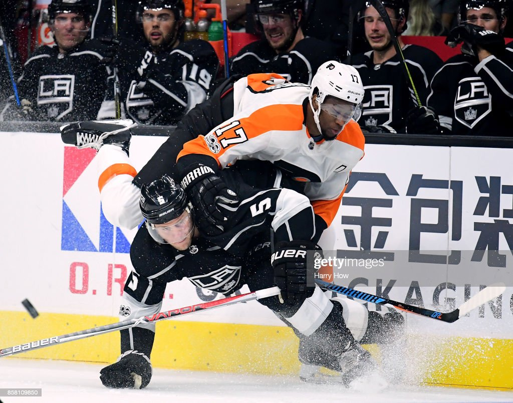 Philadelphia Flyers v Los Angeles Kings : News Photo