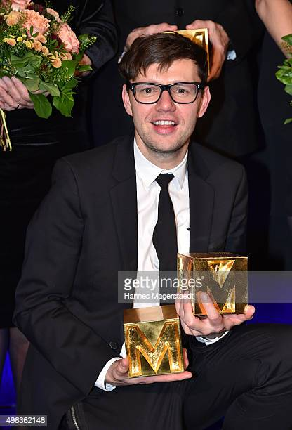 Christian Friedel during the 5th German Director Award Metropolis at HFF on November 8 2015 in Munich Germany