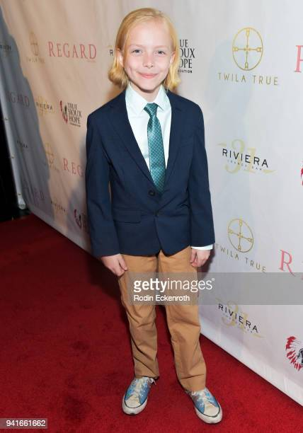 Christian Ganiere attends Regard Magazine Spring 2018 Cover Unveiling Party presented by Sony Studios featuring the cast of 'The Oath' on Crackle at...
