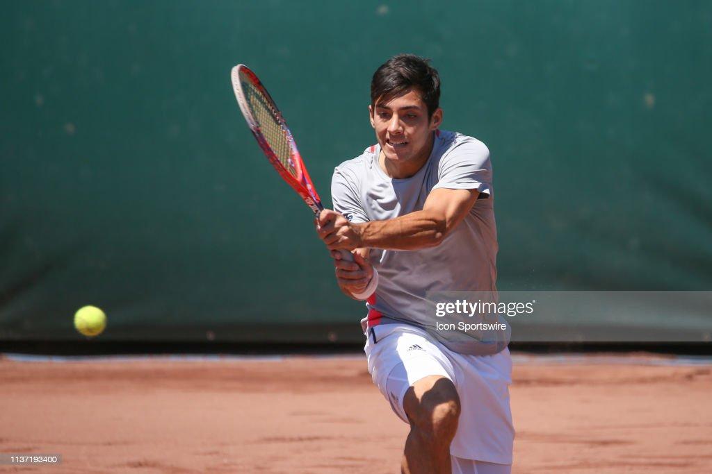 TENNIS: APR 14 US Men's Clay Court Championship : News Photo