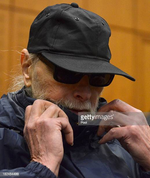 Christian Gauger arrives for the first day of his trial charged in relation to the 1975 OPEC attack in Vienna on September 21 2012 in Frankfurt...