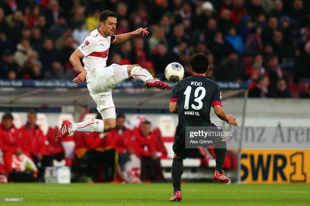 VfB Stuttgart v 1. FSV Mainz 05 - Bundesliga : News Photo