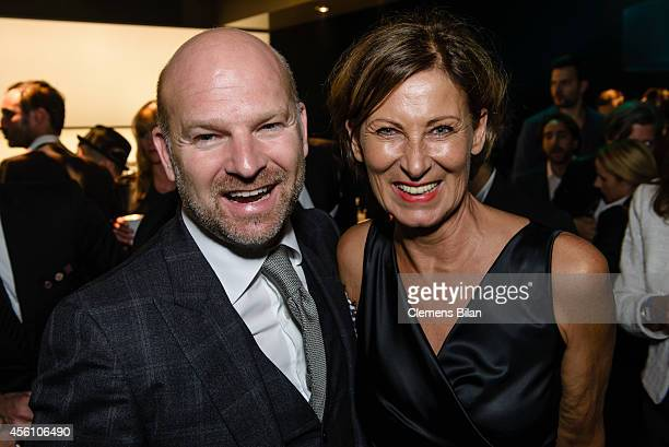 Christian Gries and Eva Lutz attend the Tribute To Bambi 2014 at Station on September 25 2014 in Berlin Germany