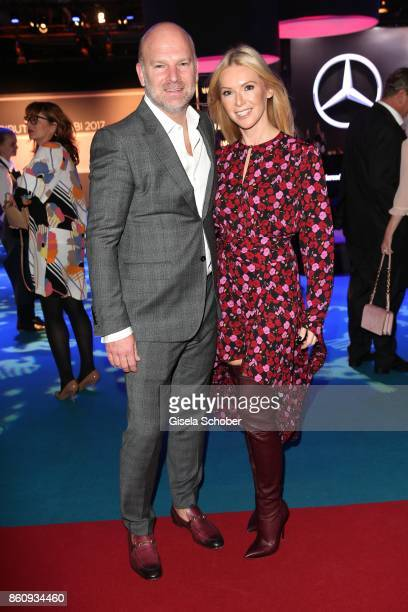 Christian Gries CEO Depot and his wife Sandra Gries during the 'Tribute To Bambi' gala at Station on October 5 2017 in Berlin Germany