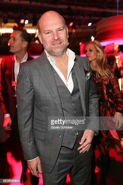 Christian Gries CEO Depot arrives for the Tribute to Bambi 2015 at Station on October 15 2015 in Berlin Germany