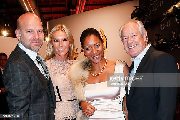 Christian Gries Sandra Gries Susanne Zahlmann and Reiner Unkel attend the Tribute To Bambi 2014 on September 25 2014 in Berlin Germany