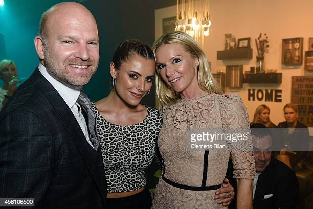 Christian Gries Sophia Thomalla and Sandra Gries attend the Tribute To Bambi 2014 at Station on September 25 2014 in Berlin Germany