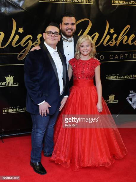 Christian Guardino Sal 'The Voice' Valentinetti and Darci Lynne attend the 2017 One Night With The Stars Benefit at The Theater at Madison Square...
