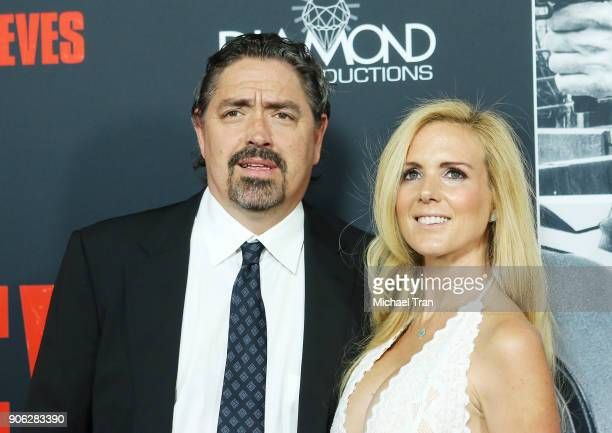 Christian Gudegast arrives to Los Angeles premiere of STX Films' 'Den Of Thieves' held at Regal LA Live Stadium 14 on January 17 2018 in Los Angeles...