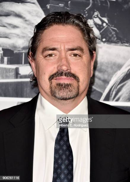 Christian Gudegast attends the premiere of STX Films' 'Den of Thieves' at Regal LA Live Stadium 14 on January 17 2018 in Los Angeles California