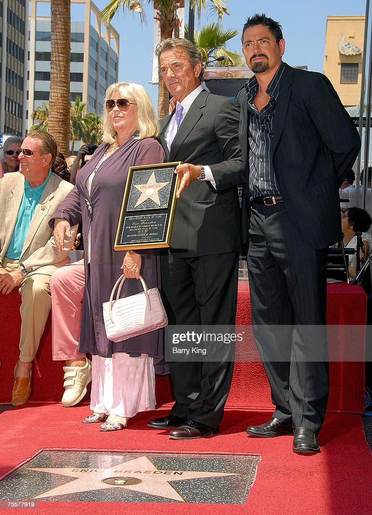 Soap Star Eric Braeden Honored with Star on the Hollywood Walk of Fame : News Photo