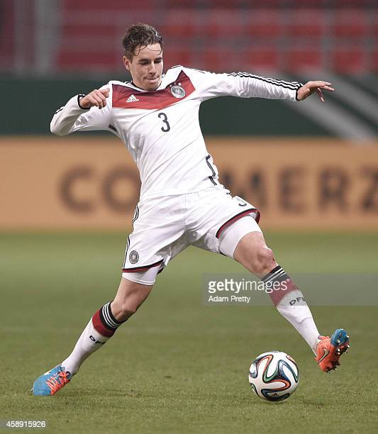 Christian Guenter of Germany in action during the U21 Germany v U21 Netherlands International Friendly match at Audi Sportpark on November 13, 2014...