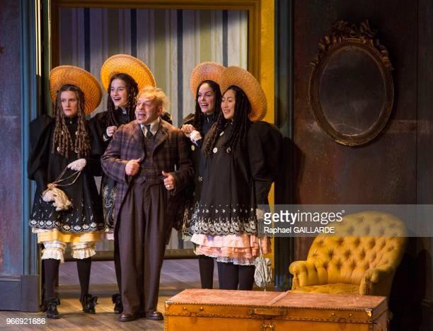 Christian Hecq lors de l'interprétation de L'Hôtel du LibreÉchange de Georges Feydeau par la troupe de la ComédieFrançaise à la salle Richelieu le 18...