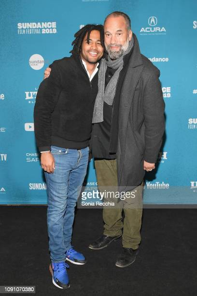 Christian Henley and Roger Guenveur Smith attend the Indie Episodic Program 2 during the 2019 Sundance Film Festival at Prospector Square Theatre on...