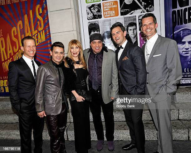 Christian Hoff Michael Longoria Maureen Van Zandt Steven Van Zandt Daniel Reichard and J Robert Spencer The Midtown Men attend The Rascals Once Upon...