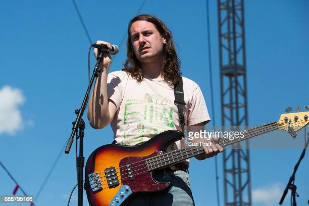 Christian Holden of The Hotelier performs at the Sasquatch Music Festival at Gorge Amphitheatre on May 26 2017 in George Washington