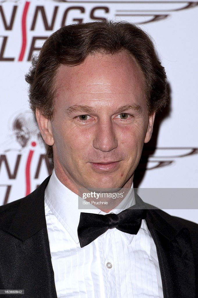 Christian Horner attends a dinner and ball hosted by The Cord Club in aid of Wings For Life at One Marylebone on February 28, 2013 in London, England.