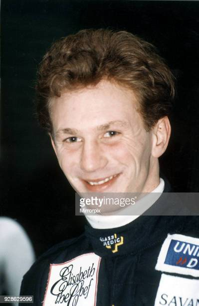 Christian Horner, Red Bull racing team boss, pictured in July 1994.
