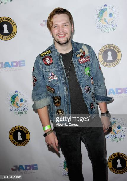 Christian Hutcherson attends the EP Release Party for Jade Patteri held at The Federal NoHo on September 21, 2021 in North Hollywood, California.