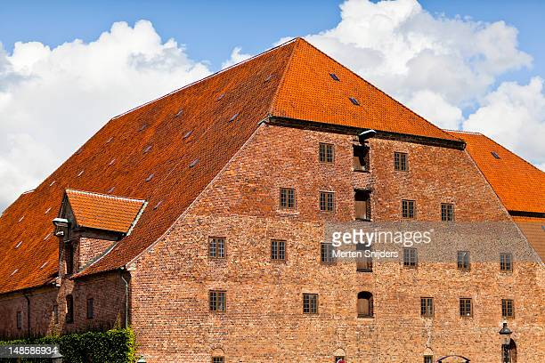 christian iv's brewhouse on soren kierkegaards plads. - merten snijders stock pictures, royalty-free photos & images