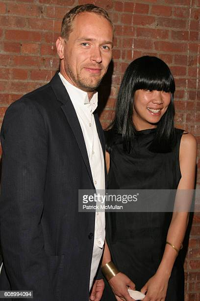 Christian Jankowski and Cynthia Leung attend The Kitchen Spring Gala Benefit 2007 at The Puck Building on May 23 2007 in New York City