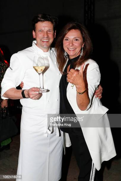 Christian Juergens and Ursula DaemmrichFreifrau von Luttitz attend the Dom Perignon 'The Legacy' on October 17 2018 in Munich Germany