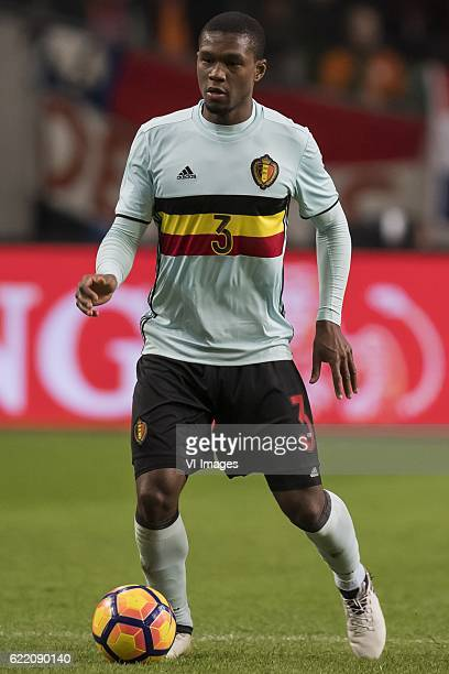 Christian Kabasele of Belgiumduring the friendly match between Netherlands and Belgium at the Amsterdam Arena on November 09 2016 in Amsterdam The...