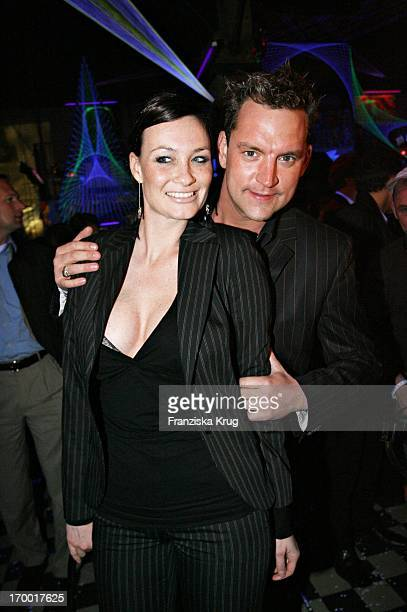 Christian Kahrmann And girlfriend Sandya Mierswa at The After Show Party in Kit Kat Club After The Premiere Basic Instinct 2 in Berlin 220306