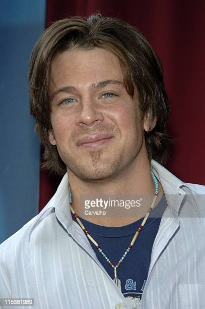 Christian Kane during 2005/2006 CBS Prime Time UpFront at Tavern on the Green Central Park in New York City New York United States