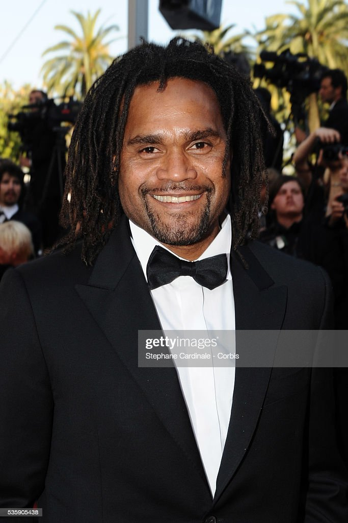 Christian Karembeu at the Premiere for 'Biutiful' during the 63rd Cannes International Film Festival.