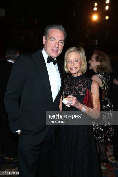 Christian Keesee and Linda Lindenbaum attend The Morgan Library Museum's Evening Benefit at The Morgan Library Museum on November 6 2017 in New York...