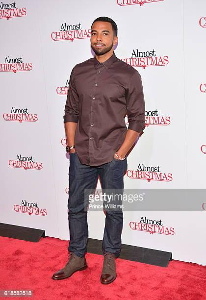 Christian Keyes attend 'Almost Christmas' Atlanta Screening at Regal Atlantic Station on October 26 2016 in Atlanta Georgia