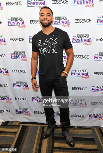 Christian Keyes attends the Essence fest at Ernest N Morial Convention Center on June 30 2016 in New Orleans Louisiana