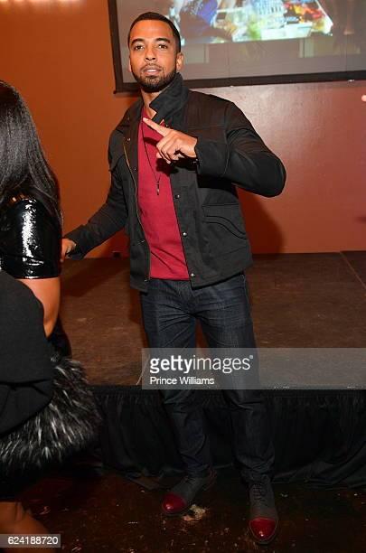 Christian Keyes attends UPTOWN Uncorked Atlanta at King Plow Arts Center on November 17 2016 in Atlanta Georgia