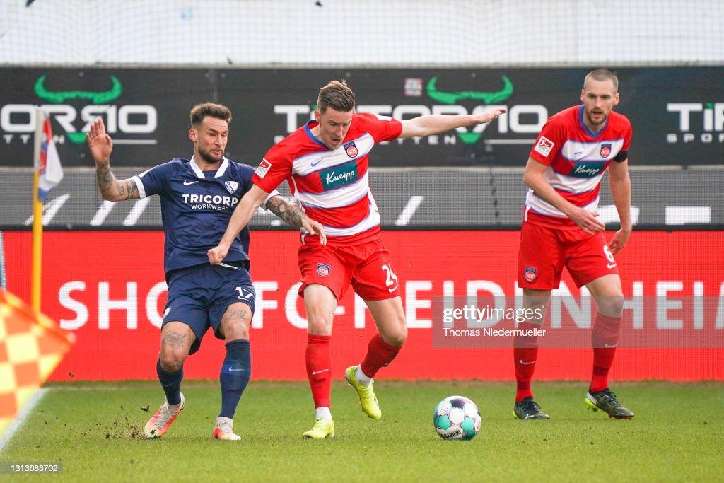 1. FC Heidenheim 1846 v VfL Bochum 1848 - Second Bundesliga : News Photo